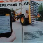 Papierloos plannen met digitale werkbon app