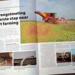 Opbrengstmeting als eerste stap naar smart farming