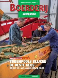 Cover Boerderij Akkerbouw aardappelpool 2014-2015